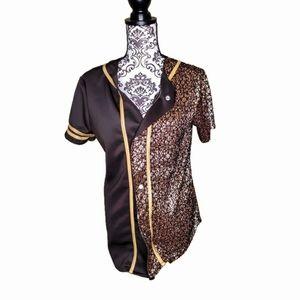 Weissman Costume Baseball Shirt Size Large